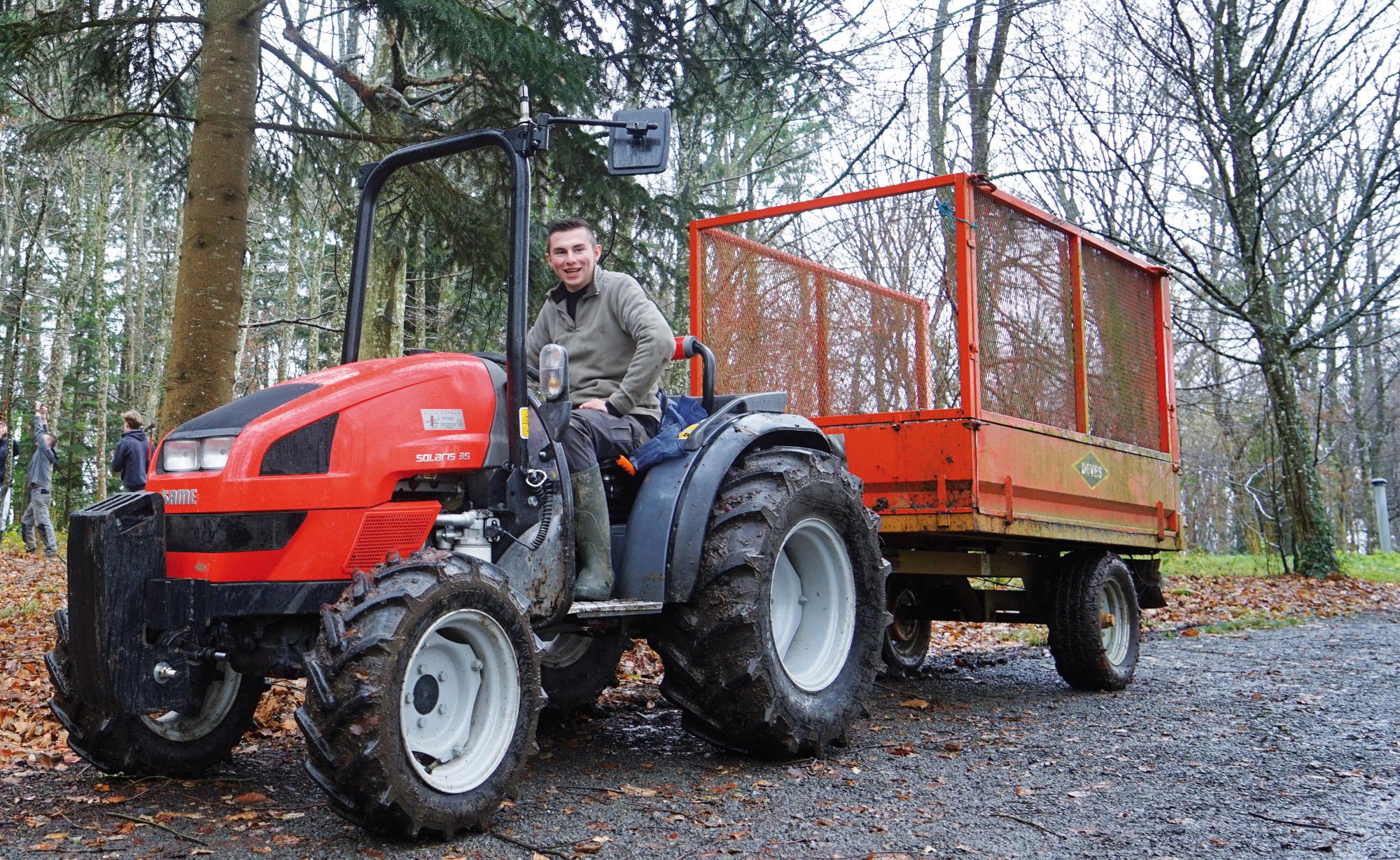 Formation professionnalisante dans les métiers de la forêt