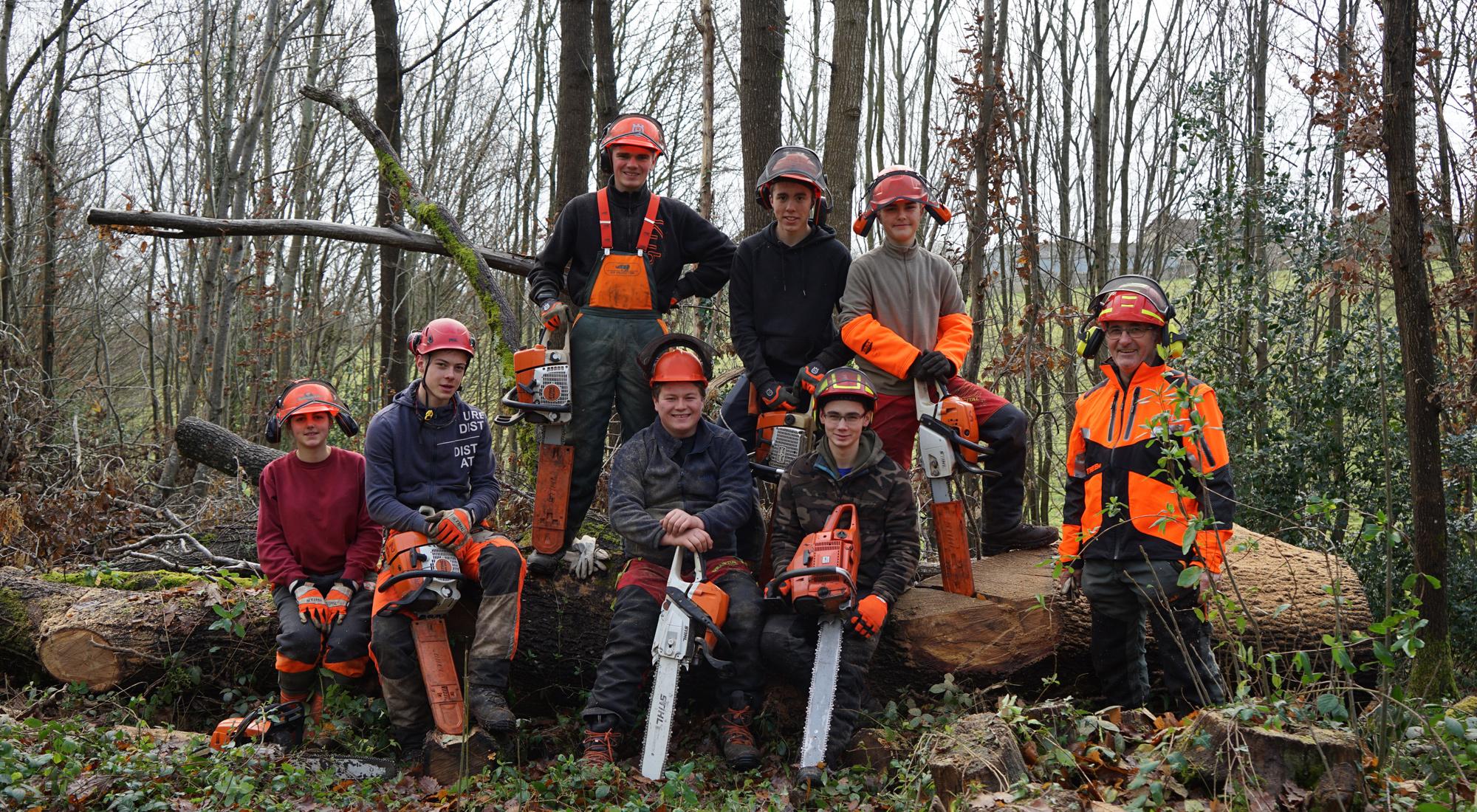 formations professionnelles sur les métiers de la forêt en Sarthe
